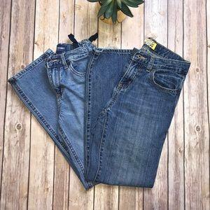 Old Navy - Bundle 2 PR Boy Jeans Size 10